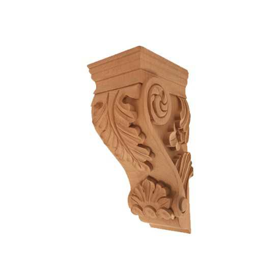 Small Acanthus Corbel Maple 4-5/8 x 5-1/4 x 10