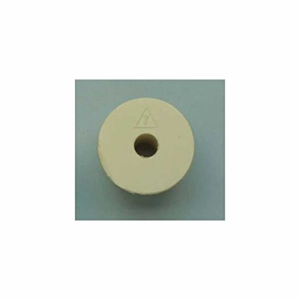 Rubber Stopper- Size 7- Drilled