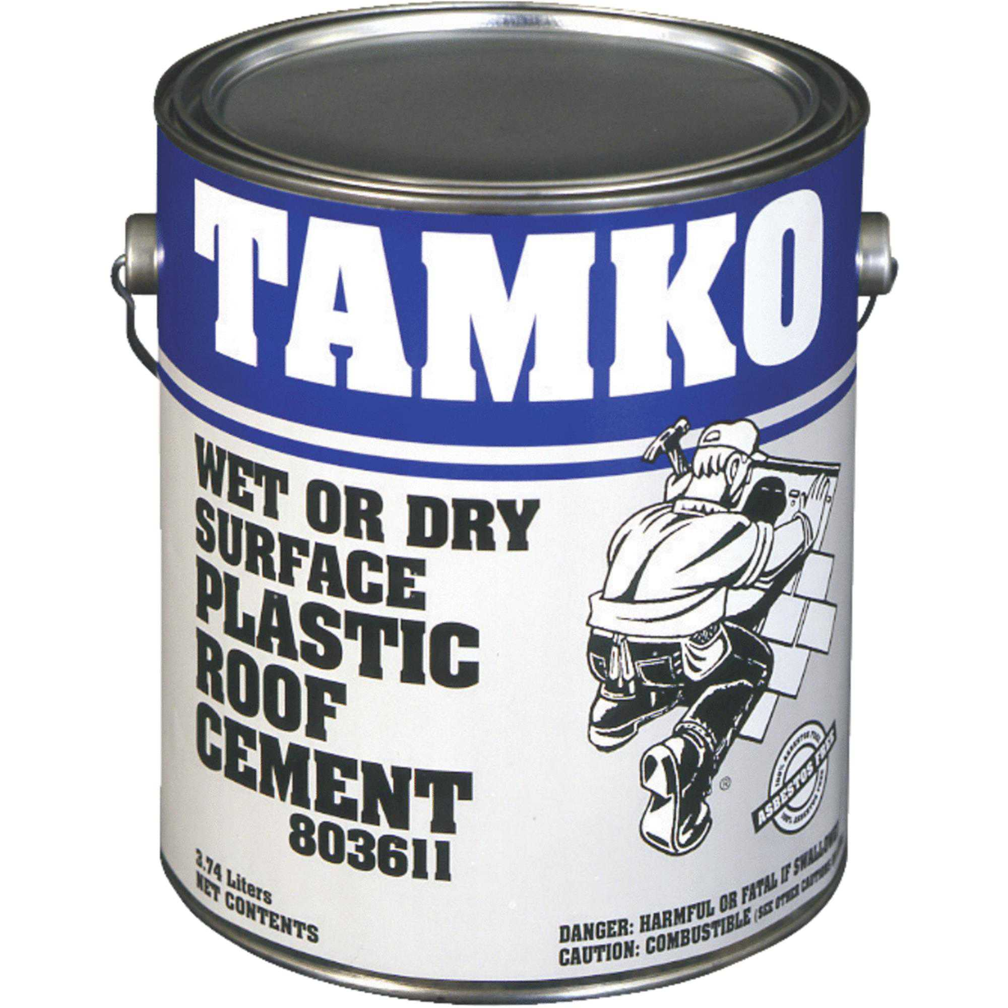 Tamko Wet Surface Roof Cement