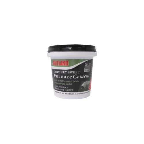 Chimney Sweep Furnace Cement - 8 Fl Oz Tub
