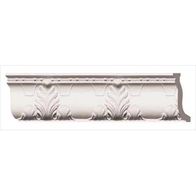American Pro Decor 5APD10110 96 x 9 in. Leaves Crown Moulding