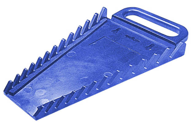 12 Piece Blue Wrench Holder