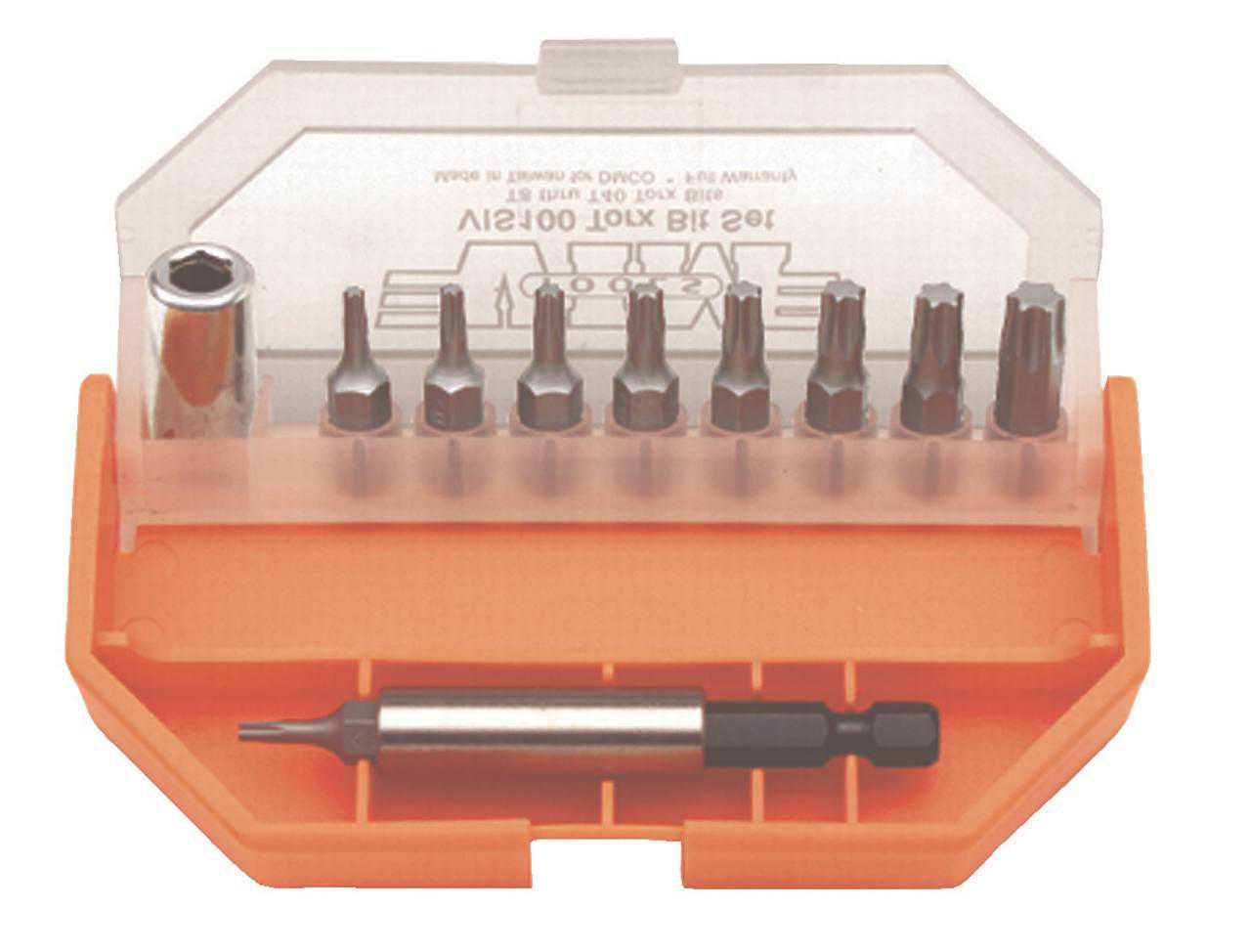 11 Piece Hex Bit Set T8-T40