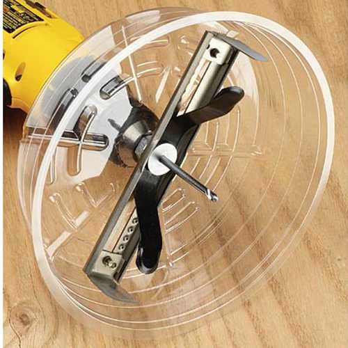 Ideal 35-599 Adjustable Can Light Hole Saw 6-1-4 in. to 10-3-8 in.
