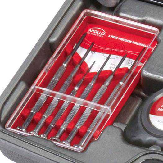 Apollo Precision Tools 144-Piece Household Tool Kit