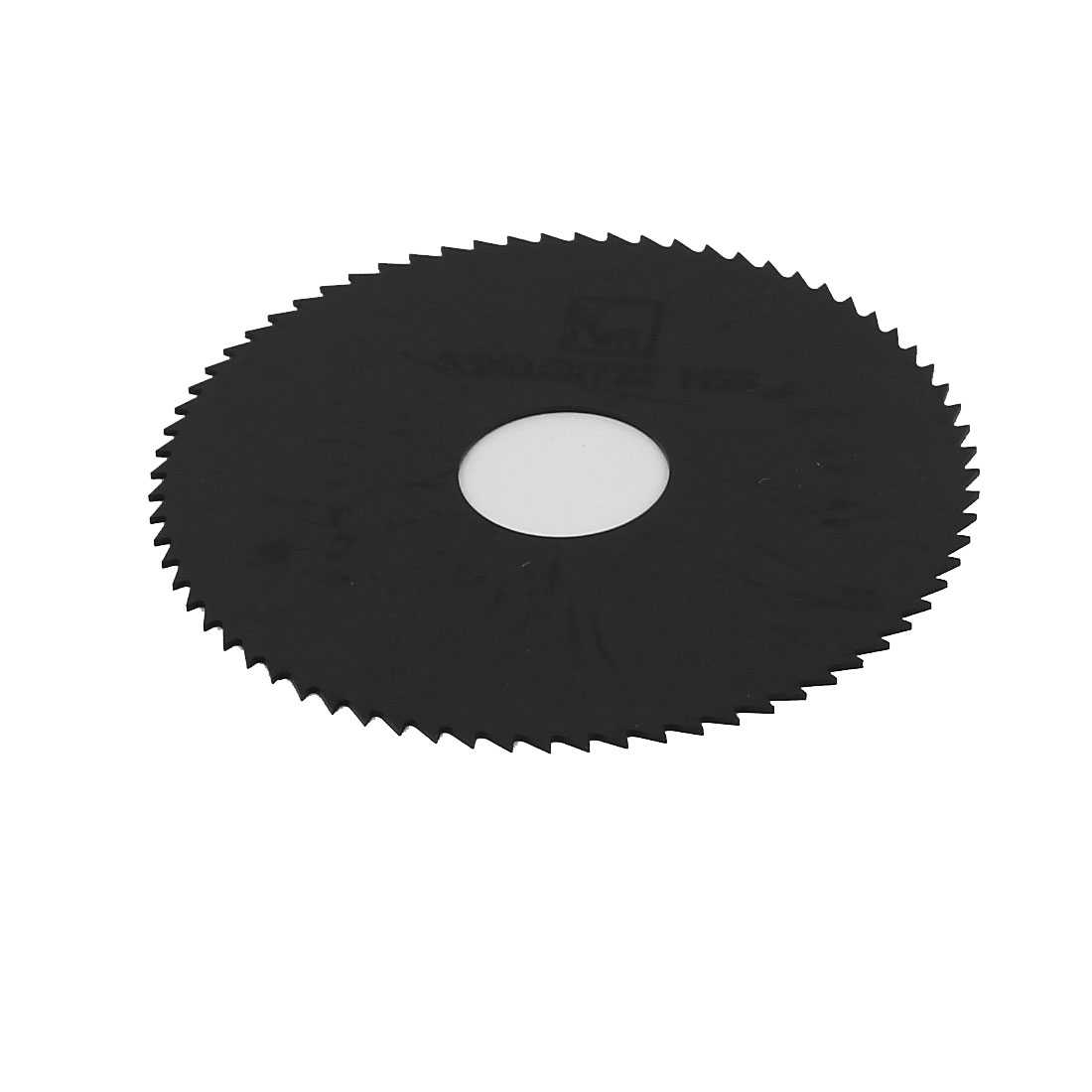 HSS 63mm x 0.6mm x 16mm 72T Teeth Round Cutting Disc Slitting Saw Blade