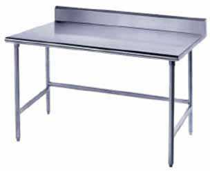 Advance Tabco Work Table 72' x 24' Wide - TKLG-246
