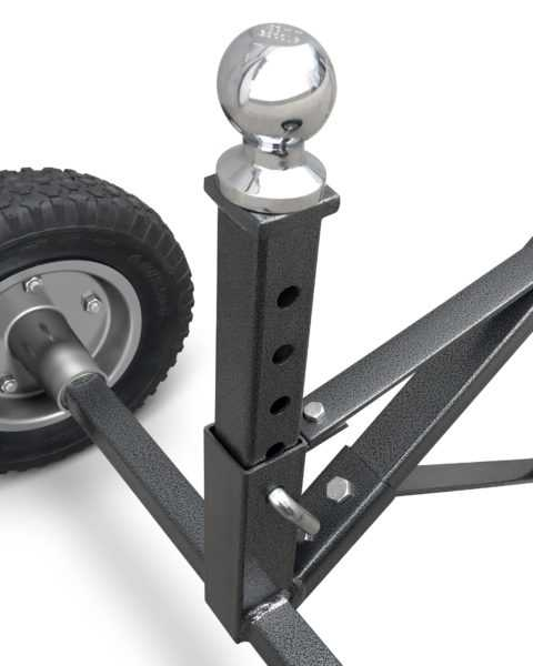 Trac Outdoor T10046 Adjustable 700lb Trailer Dolly