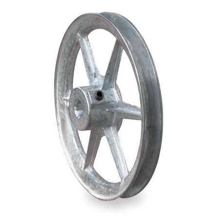 CONGRESS 7/8' Fixed Bore 1 Groove V-Belt Pulley 14' OD, CA1400X087KW