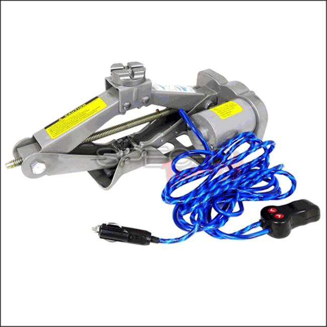 Spec-D Tuning EJ-A20H Electric 12 V 2 Ton Car Lift Jack, 6 x 18 x 22 in.