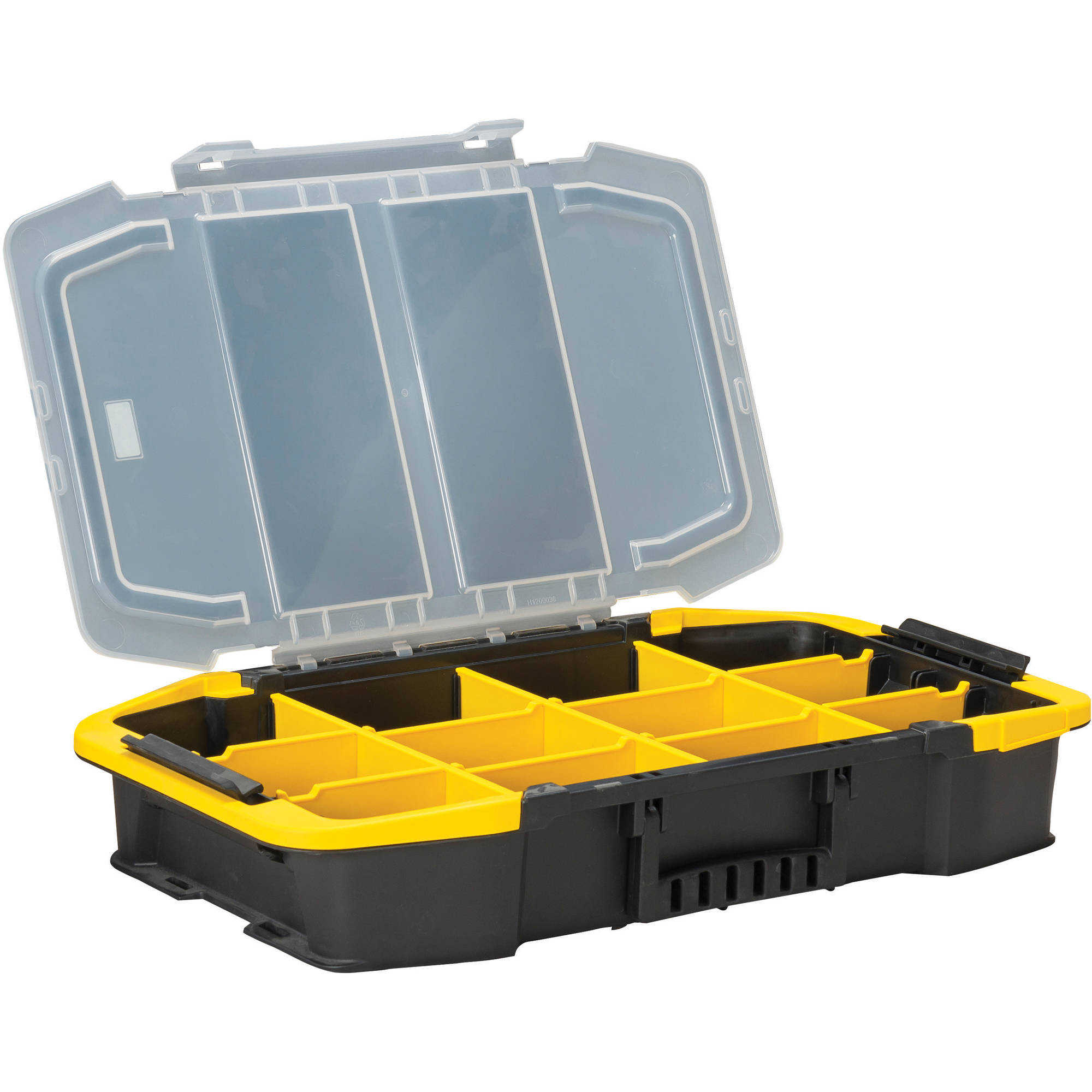 Stanley 19-13/16, Tool Organizer, Hand Carry, Plastic, Black/Clear/Yellow, STST14440