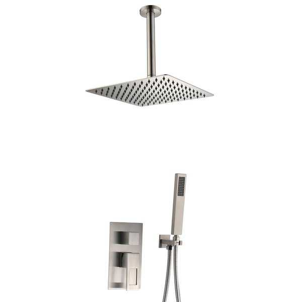 Sumerain Ceiling Shower System with LED Shower Head