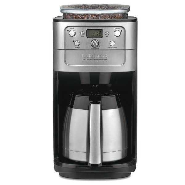 Cuisinart DGB-900BC Burr Grind & Brew Thermal™ 12 Cup Automatic Coffeemaker, Stainless Steel