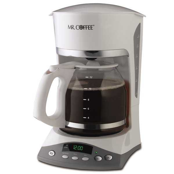 Mr. Coffee SKX20-NP SKX Series 12-Cup White Programmable Coffeemaker